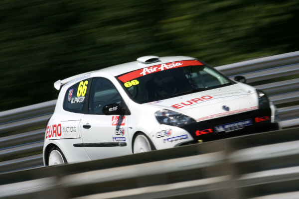 Oulton Park, Cheshire. 4th - 5th June 2011.Mark Proctor (GBR) Total Control Racing Renault Clio Cup.World Copyright: Ebrey/LAT Photographic.
