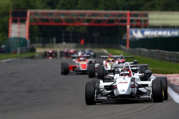 Spa Francorchamps, Belgium. 23rd - 25th July 2009.Max Chilton (GBR) - Carlin Motorsport Dallara Volkswagen.World Copyright: Ebrey/LAT Photographic.