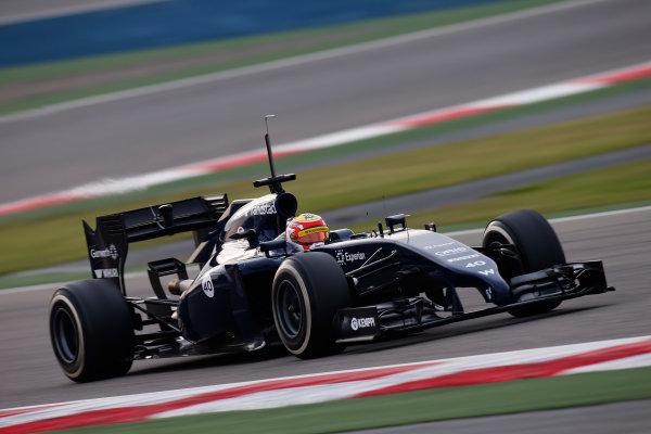 2014 F1 Pre Season Test 2 - Day 3 Bahrain International Circuit, Bahrain. Saturday 22 February 2014. Felipe Nasr, Williams FW36 Mercedes. World Copyright: Glenn Dunbar/LAT Photographic. ref: Digital Image _W2Q4448