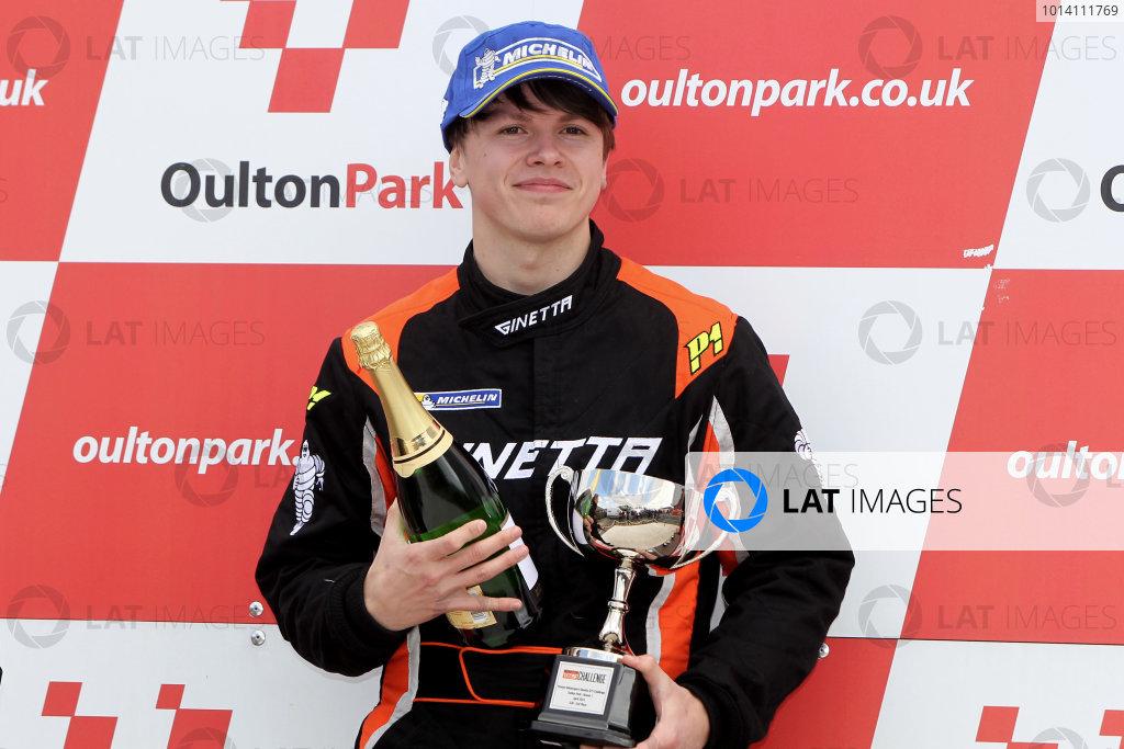 2014 Protyre Motorsport Ginetta GT5 Challenge, Oulton Park, Cheshire. 19th April 2014. Alex Preston (GBR) Tolman Motorsport Ginetta G20. World Copyright: Ebrey / LAT Photographic.