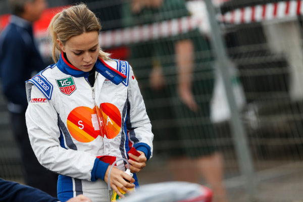 2014 GP3 Series Round 1 - Race 2. Circuit de Catalunya, Barcelona, Spain. Sunday 11 May 2014. Carmen Jorda (ESP, Koiranen GP)  Photo: Sam Bloxham/GP3 Series Media Service. ref: Digital Image _SBL7013