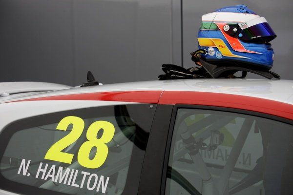 Nicolas Hamilton (GBR), Total Control Racing, makes his Renault Clio Cup racing debut this weekend. Renault Clio Cup, Rd1, Brands Hatch, England, 2 April 2011.