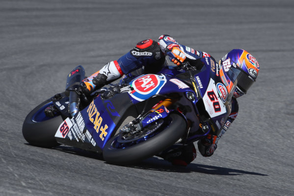 2017 Superbike World Championship - Round 8 Laguna Seca, USA. Friday 7 July 2017 Michael van der Mark, Pata Yamaha World Copyright: Gold and Goose/LAT Images ref: Digital Image 682934