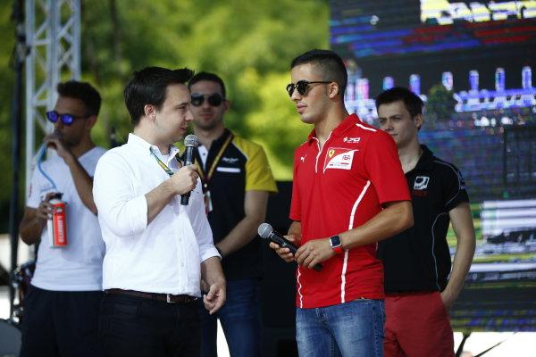 2017 FIA Formula 2 Round 7. Hungaroring, Budapest, Hungary. Saturday 29 July 2017. Antonio Fuoco (ITA, PREMA Racing).  Photo: Andy Hone/FIA Formula 2. ref: Digital Image _ONY0701