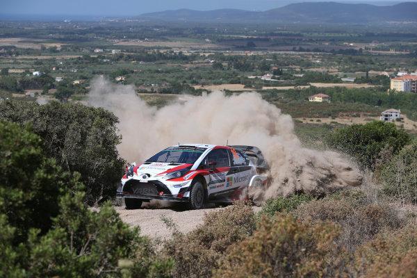 2017 FIA World Rally Championship, Round 07, Rally Italia Sardegna, June 8-11, 2017, Jari Mati Latvala, Toyota, action Worldwide Copyright: McKlein/LAT
