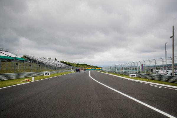 2017 FIA Formula 2 Round 7. Hungaroring, Budapest, Hungary. Thursday 27 July 2017. A view of the track. Photo: Zak Mauger/FIA Formula 2. ref: Digital Image _56I0064