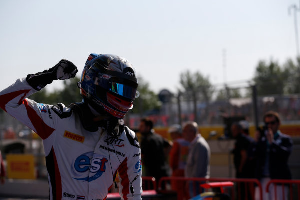 2016 GP3 Series Round 1 Circuit de Catalunya, Barcelona, Spain. Sunday 15 May 2016. Alexander Albon (THA, ART Grand Prix)  Photo: Sam Bloxham/GP3 Series Media Service. ref: Digital Image _R6T9376
