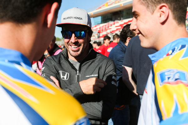 Circuit de Catalunya, Barcelona, Spain. Thursday 11 May 2017. Fernando Alonso, McLaren. World Copyright: Dom Romney/LAT Images ref: Digital Image AM1T9922