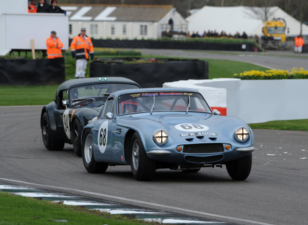 2017 75th Members Meeting Goodwood Estate, West Sussex,England 18th - 19th March 2017 Graham Hill Trophy Whitaker Jordan TVR World Copyright : Jeff Bloxham/LAT Images Ref : Digital Image