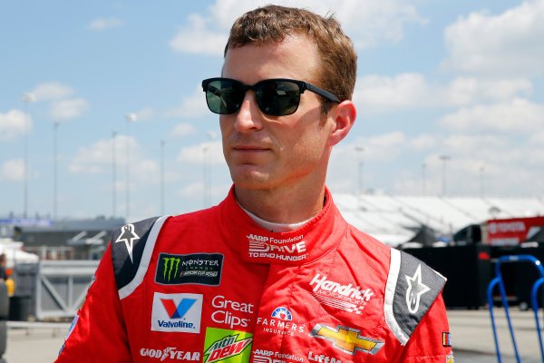 Monster Energy NASCAR Cup Series Toyota Owners 400 Richmond International Raceway, Richmond, VA USA Friday 28 April 2017 Kasey Kahne, Hendrick Motorsports, AARP Drive to End Hunger Chevrolet SS World Copyright: Russell LaBounty LAT Images ref: Digital Image 17RIC1Jrl_0133