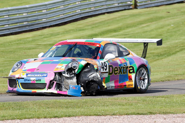 2017 Porsche Carrera Cup Oulton Park, 20th-21st May 2017, Martin (GBR)  World copyright. JEP/LAT Images