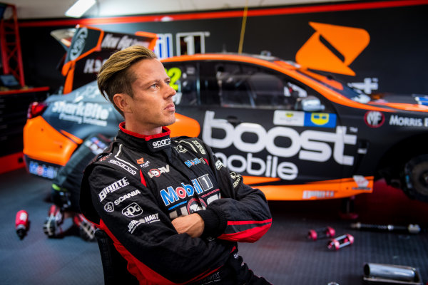 2017 Supercars Championship Round 3.  Phillip Island 500, Phillip Island, Victoria, Australia. Friday 21st April to Sunday 23rd April 2017. James Courtney driver of the #22 Mobil 1 HSV Racing Holden Commodore VF. World Copyright: Daniel Kalisz/LAT Images Ref: Digital Image 210417_VASCR3_DKIMG_0351.JPG
