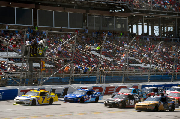 NASCAR Xfinity Series Sparks Energy 300 Talladega Superspeedway, Talladega, AL USA Saturday 6 May 2017 Justin Allgaier, Hellmann's Chevrolet Camaro World Copyright: Nigel Kinrade LAT Images ref: Digital Image 17TAL1nk04602