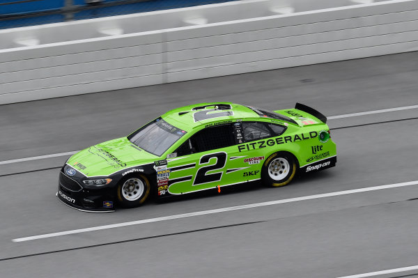 Monster Energy NASCAR Cup Series GEICO 500 Talladega Superspeedway, Talladega, AL USA Friday 5 May 2017 Brad Keselowski, Team Penske, Fitzgerald Glider Kits Ford Fusion World Copyright: John K Harrelson LAT Images
