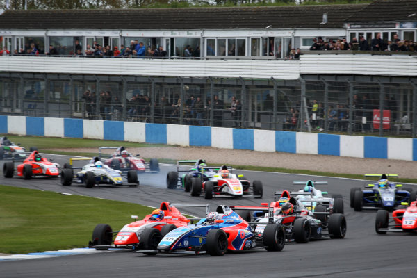 2017 British Formula 4 Championship, Donington Park, April 15th-16th 2017, xxxxxxxxxxxxxxxxxxxxxx World Copyright. JEP/LAT Images