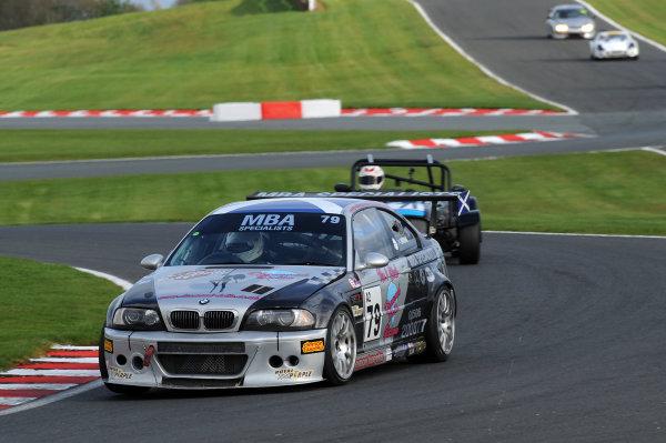 2017 DDMC Northern Saloon & Sports Car Championship, Oulton Park, Cheshire. 15th April 2017. Paul Brydon BMW M3. World Copyright: JEP/LAT Images.
