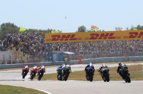 Jorge Lorenzo, Ducati Team leads.