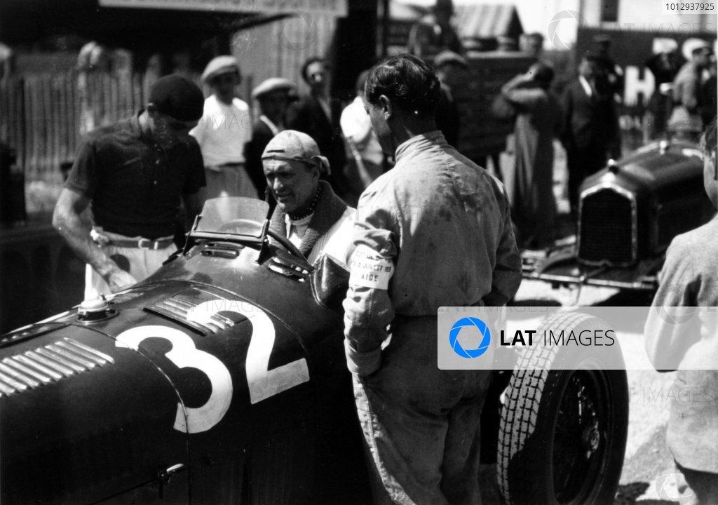 1935 Dieppe Grand Prix Dieppe, France. 21 July 1935 Louis Chiron, Alfa Romeo Tipo-B