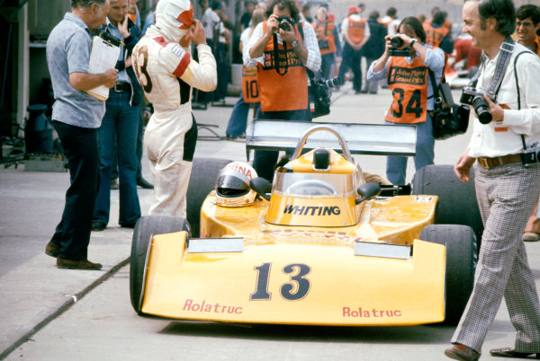 1976 British Grand PrixBrands Hatch, England. 16th - 18th July 1976Divina Galica (Surtees TS16-Ford), did not qualify World Copyright: LAT Photographicref: 50mb+ Hi REs 35mm Image