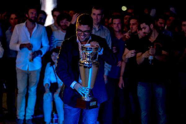 2016 GP2/3 Awards Evening. Yas Marina Circuit, Abu Dhabi, United Arab Emirates. Sunday 27 November 2016. Prema racing. Photo: Zak Mauger/GP2 Series Media Service/GP3 Series Media Service. ref: Digital Image _X0W9936