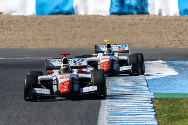 JEREZ (ESP) 28-30 oct 2016, Spanish F4, Euro Formula Open and Formula V8 3.5 2016 at circuito de Jerez. Yu Kanamaru #25 Teo Martin motorsport. Action. © 2016 Klaas Norg / Dutch Photo Agency / LAT Photographic