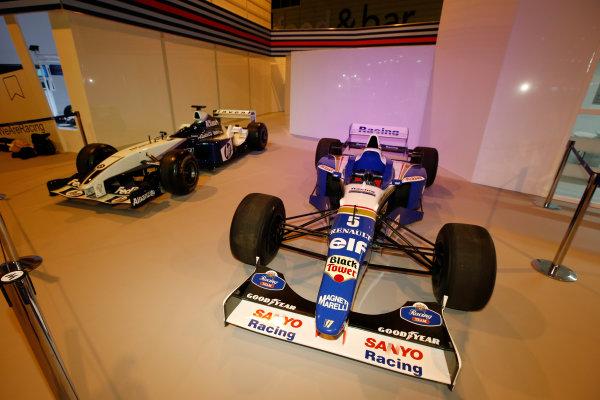 Autosport International Exhibition. National Exhibition Centre, Birmingham, UK. Thursday 12 January 2017. The Williams Martini Racing display. World Copyright: Sam Bloxham/LAT Photographic. Ref: _SLB4324