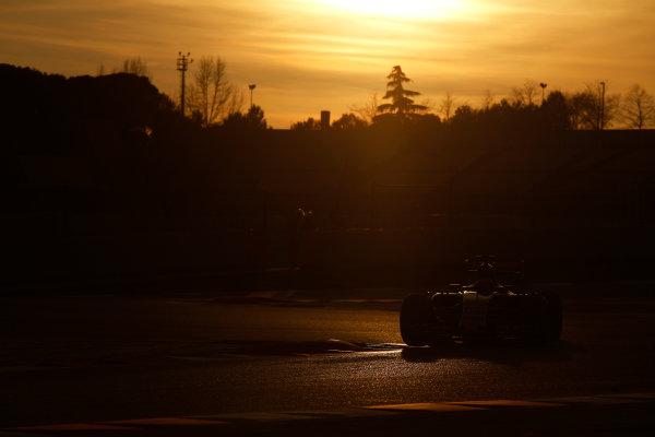 2015 F1 Pre Season Test 3 - Day 4 Circuit de Catalunya, Barcelona, Spain. Thursday  Sunday 1 March 2015. Max Verstappen, Toro Rosso STR10 Renault.  World Copyright: Sam Bloxham/LAT Photographic. ref: Digital Image _14P5541