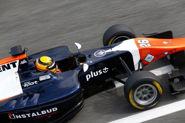 2014 GP3 Series Test 1. Estoril, Portugal.  Thursday 19 March 2015. Artur Janosz (POL, Trident)  Photo: Sam Bloxham/GP3 Series Media Service. ref: Digital Image _SBL0641