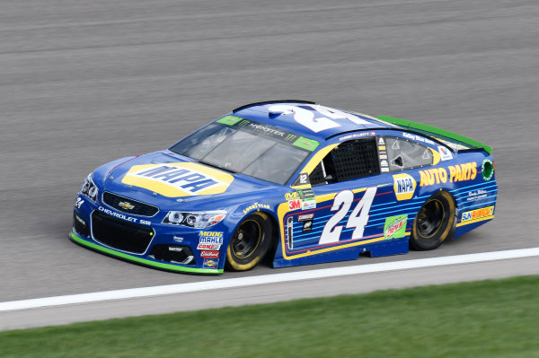 Monster Energy NASCAR Cup Series Hollywood Casino 400 Kansas Speedway, Kansas City, KS USA Friday 20 October 2017 Chase Elliott, Hendrick Motorsports, NAPA Chevrolet SS World Copyright: John K Harrelson LAT Images