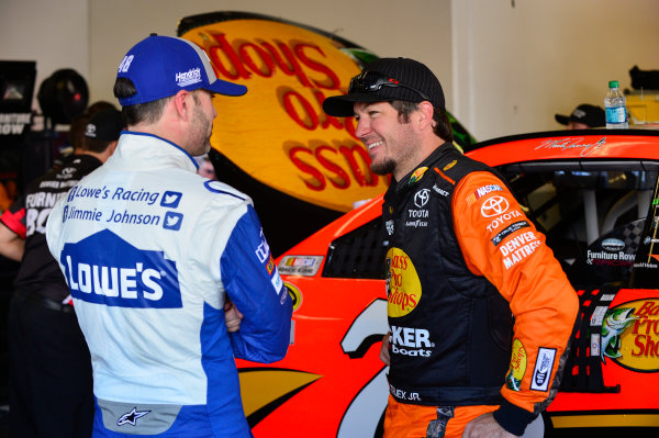 13-21 February, 2016, Daytona Beach, Florida USA Jimmie Johnson, Martin Truex Jr, Furniture Row Toyota Camry ?2016, Logan Whitton LAT Photo USA