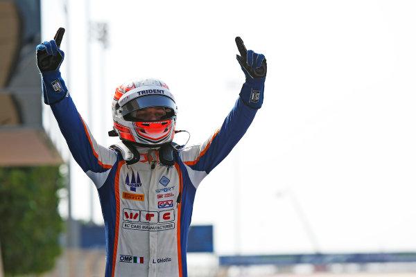 2015 GP3 Series Round 8. Bahrain International Circuit, Bahrain Saturday 21 November 2015. Luca Ghiotto (ITA, Trident)  Photo: Sam Bloxham/GP3 Series Media Service. ref: Digital Image _SBL4880