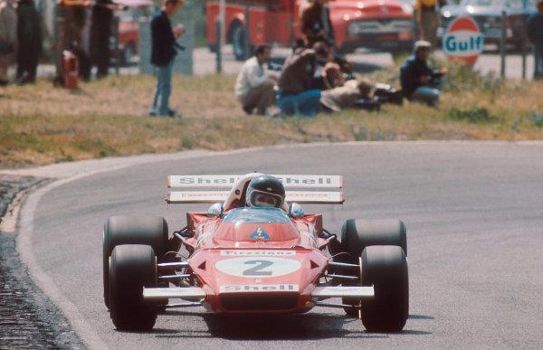 1971 Dutch Grand Prix.Zandvoort, Holland.18-20 June 1971.Jacky Ickx (Ferrari 312B2) 1st position.Ref-71 HOL 07.World Copyright - LAT Photographic