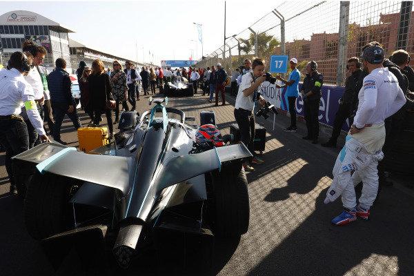 Gary Paffett (GBR), HWA Racelab, on the grid
