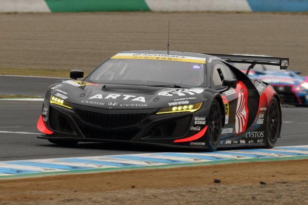 GT300 Driver's champions Shinichi Takagi & Nirei Fukuzumi, Autobacs Racing Team Aguri Honda NSX GT