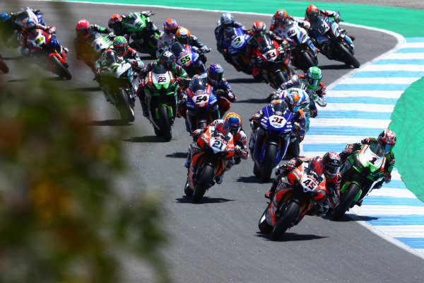 Scott Redding, Aruba.It Racing - Ducati, Jonathan Rea, Kawasaki Racing Team WorldSBK.