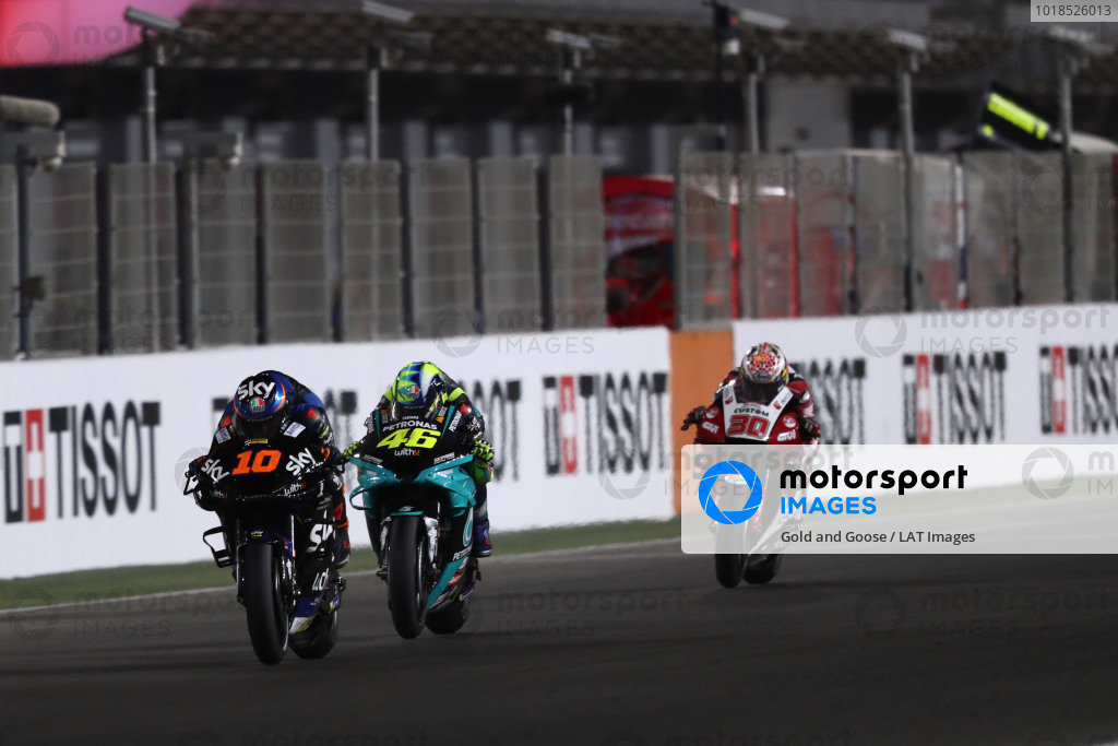 Luca Marini, Esponsorama Racing, Valentino Rossi, Petronas Yamaha SRT.