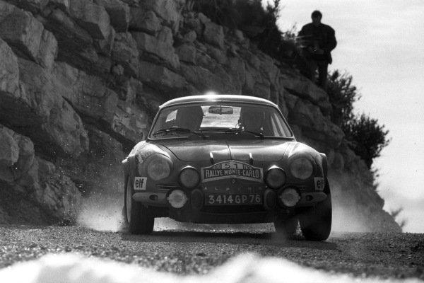 Jean-Luc Therier / Marcel Callewaert, Alpine A110.