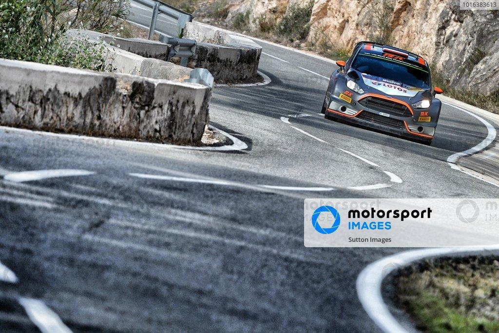 Robert Kubica (POL) / Maciek Szczepaniak (POL), Ford Fiesta RS WRC at FIA World Rally Championship, Rd12, RAAC Rally de Espana, Day Two, Costa Daurada, Catalunya, Spain, 24 October 2015.