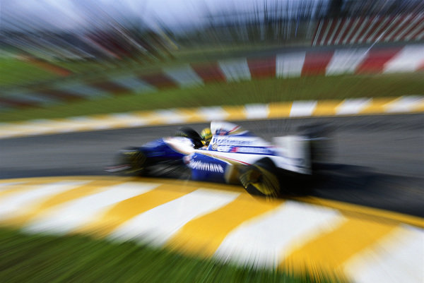 Ayrton Senna, Williams FW16 Renault.