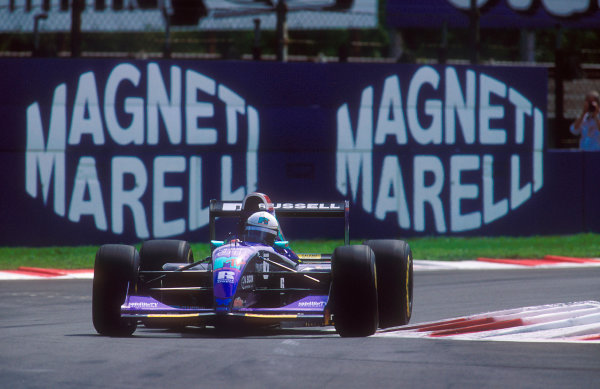 1994 Italian Grand Prix.Monza, Italy.9-11 September 1994.David Brabham (Simtek S941 Ford). He exited the race with a fractured front brake disc.Ref-94 ITA 14.World Copyright - LAT Photographic