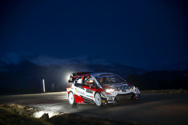 Kalle Rovanpera (FIN), Toyota Gazoo Racing, Toyota Yaris WRC 2020