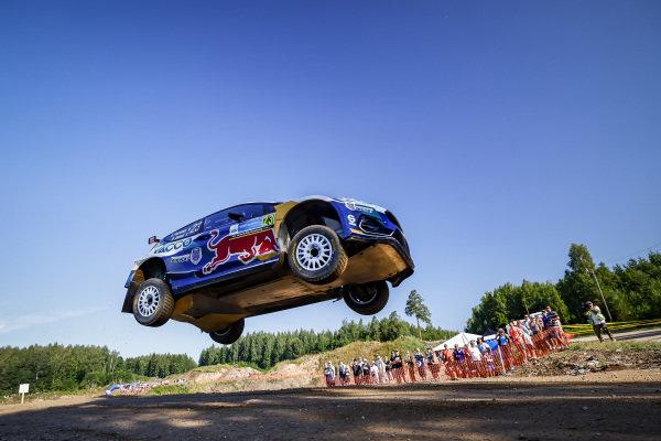 Adrien Fourmaux (FRA), M-Sport World Rally Team, Ford Fiesta WRC RallyOliver Solberg (SWE), Hyundai 2C Competition, Hyundai i20 WRC  2021
