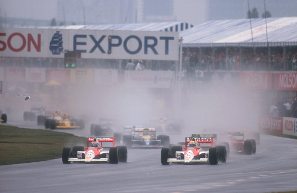 1990 Canadian Grand Prix.