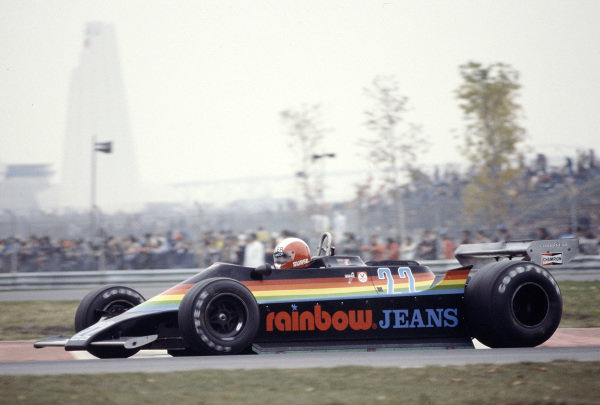 1979 Canadian Grand Prix.Montreal, Quebec, Canada.28-30 September 1979.Marc Surer (Ensign N179 Ford).Ref-79 CAN 29.World Copyright - LAT Photographic