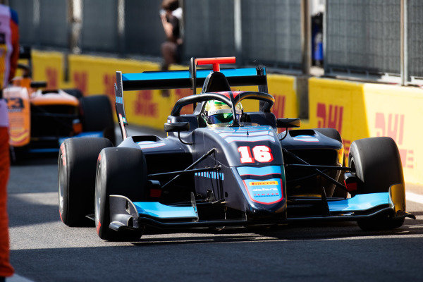 AUTODROMO NAZIONALE MONZA, ITALY - SEPTEMBER 07: Andreas Estner (DEU, Jenzer Motorsport) during the Monza at Autodromo Nazionale Monza on September 07, 2019 in Autodromo Nazionale Monza, Italy. (Photo by Joe Portlock / LAT Images / FIA F3 Championship)