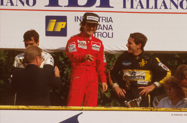 Monza, Italy. 6-8 September 1985. 