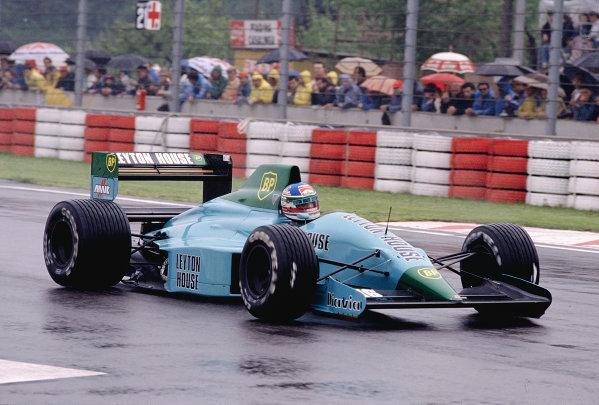 1989 San Marino Grand Prix.Imola, Italy.21-23 April 1989.Ivan Capelli (March 881 Judd).Ref-89 SM 19.World Copyright - LAT Photographic