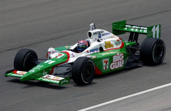 2003 IRL IndyCar Texas,6/5-6/7/03, Tony KanaanTexas Motor SpeedwayWorld Copyright-Walt Kuhn 2003 LAT Photographicref: Digital Image Only