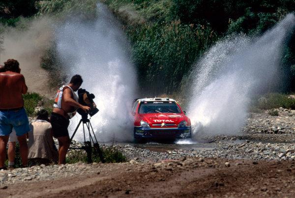 2003 World Rally ChampionshipRally of Cyprus, Cyprus. 19th - 22nd June 2003.Sebastien Loeb/Daniel Elena (Citroen Xsara), action.World Copyright: McKlein/LAT Photographicref: 03WRCCyprus07