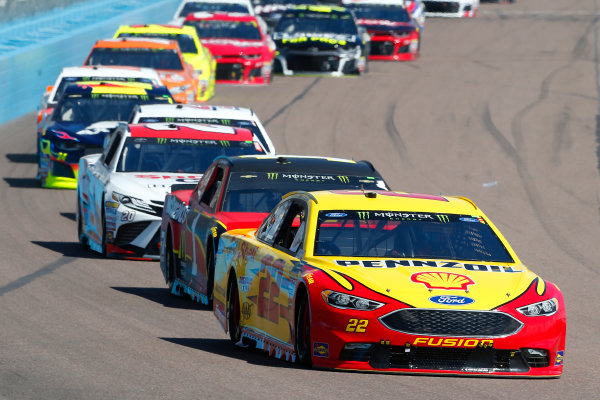 Monster Energy NASCAR Cup Series TicketGuardian 500 ISM Raceway, Phoenix, AZ USA Sunday 11 March 2018 Joey Logano, Team Penske, Ford Fusion Pennzoil and Jamie McMurray, Chip Ganassi Racing, Chevrolet Camaro McDonald's World Copyright: Russell LaBounty NKP / LAT Images